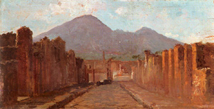A view of Pompei